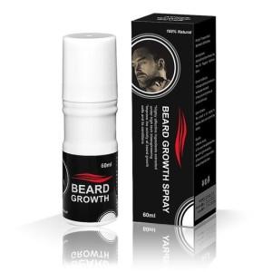baard spray om baardgroei te stimuleren